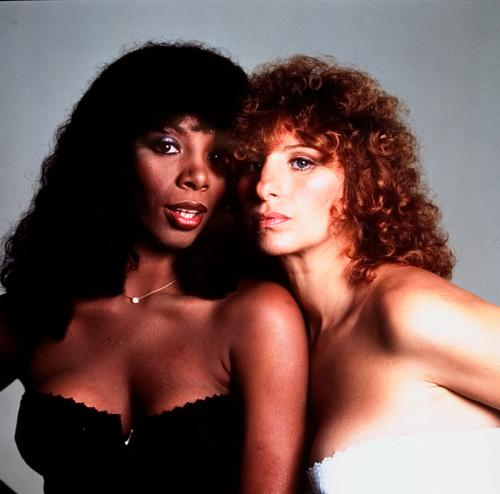 Barbra Streisand Donna Summer color