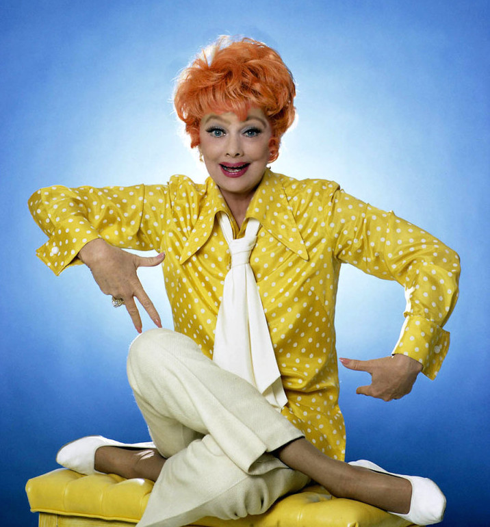 Lucille Ball 1960s portrait