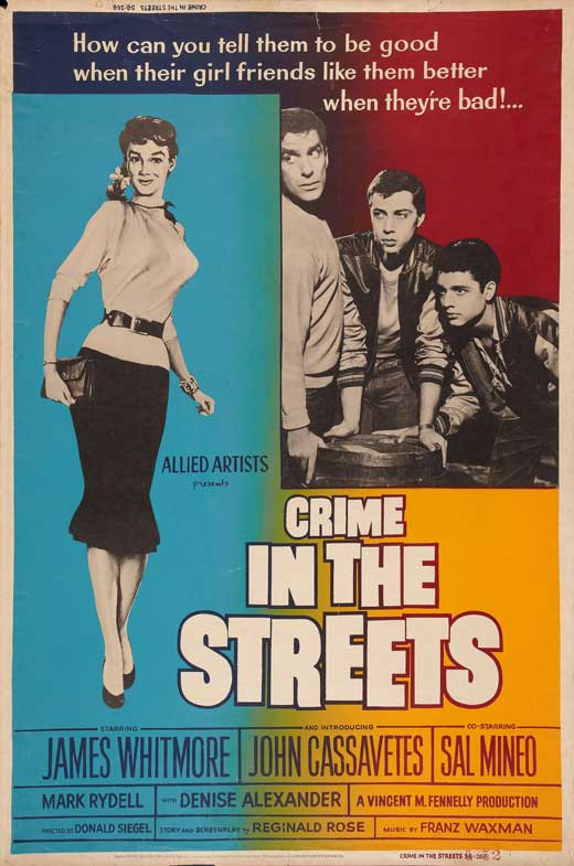 """Crime in the Streets"" poster"