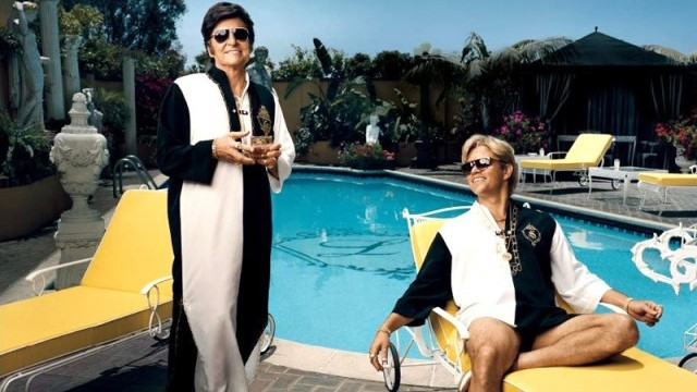 Behind the Candelabra pool