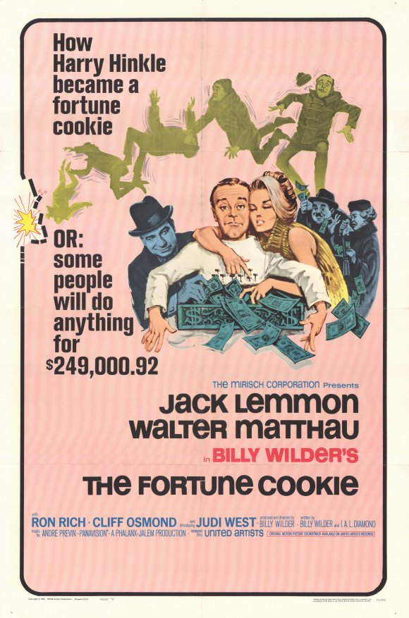 """The Fortune Cookie"" one sheet"