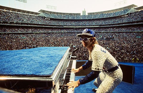 Elton John Dodger Stadium, 1975