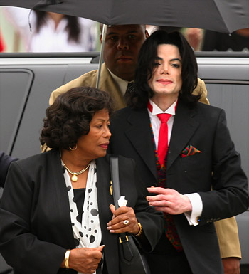 Michael and Katherine Jackson