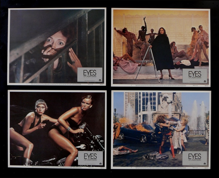 Eyes of Laura Mars Lobby Cards