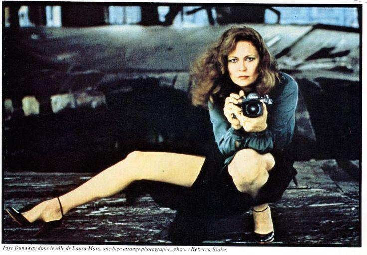 Faye Dunaway camera
