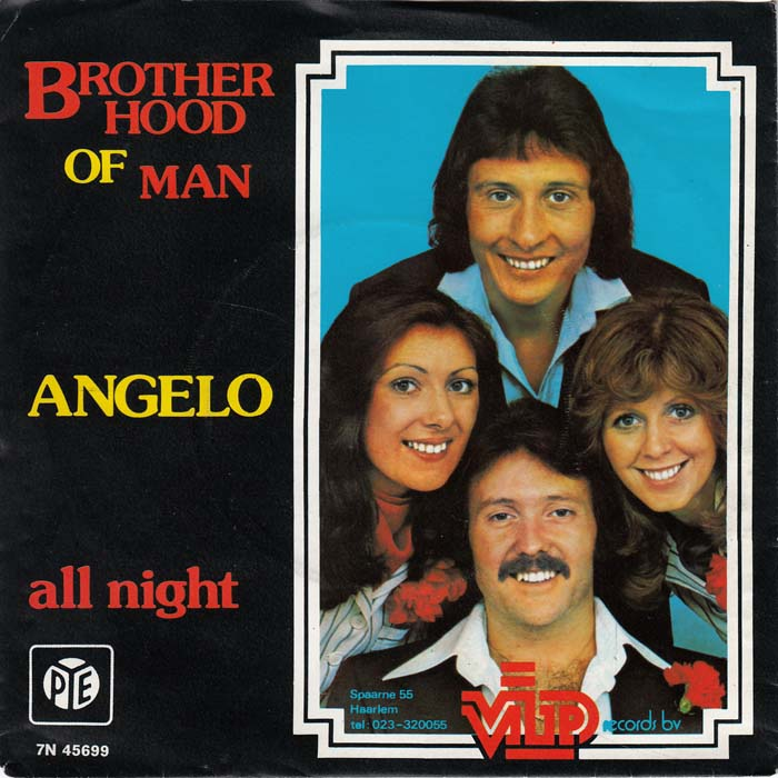 "Brotherhood of Man, ""Angelo"""