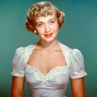 Jane Powell color portrait