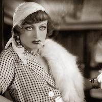 Joan Crawford cigarette