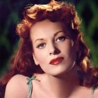 Maureen O'Hara green