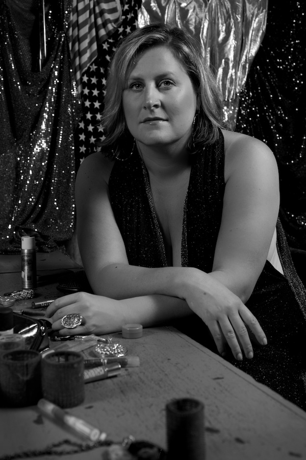 Bridget Everett black and white