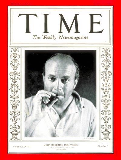 John Dos Passos, Time Magazine