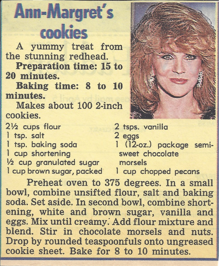 Ann-Margret recipe