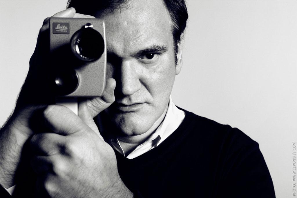 Quentin Tarantino, camera