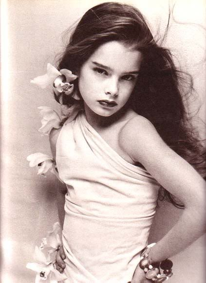 Brooke Shields, sexualized child
