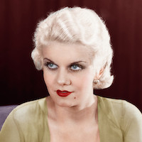 Jean Harlow featured