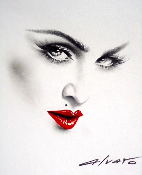 Madonna Illustration