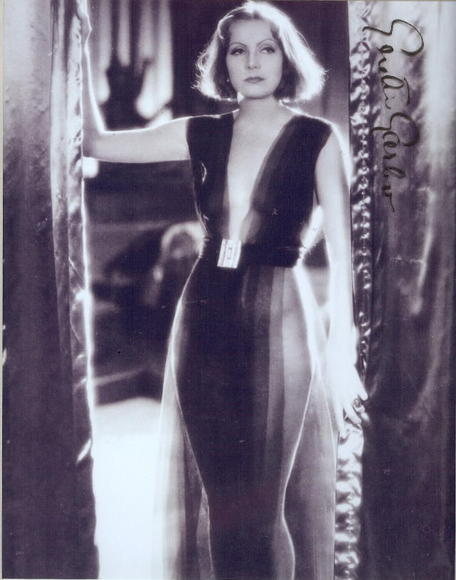 Greta Garbo cleavage