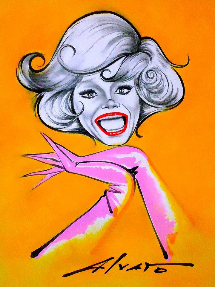 Carol Channing by Alvaro
