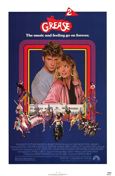 """Grease 2"" poster"