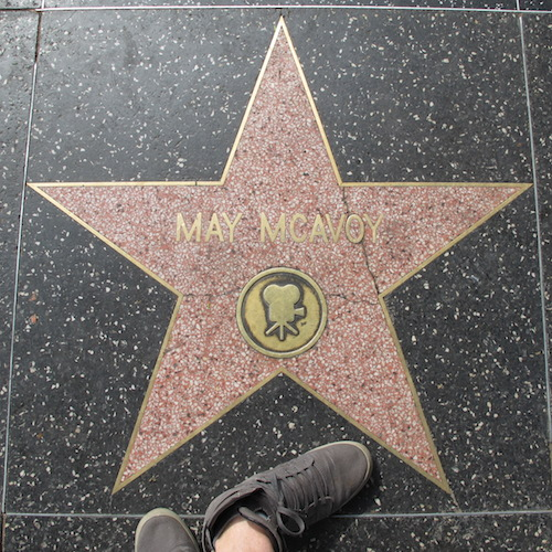 May McAvoy, Star