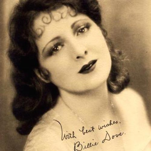 Billie Dove sepia