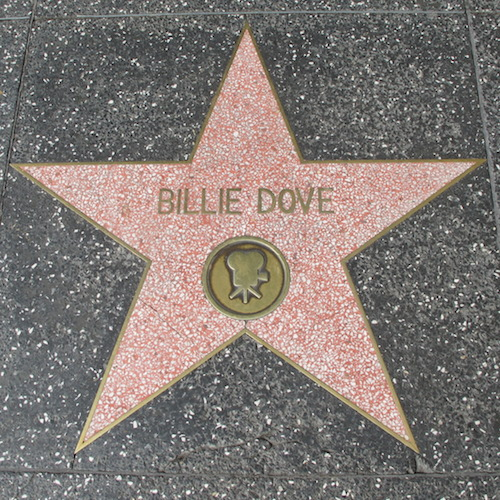 Billie Dove star, walk of fame