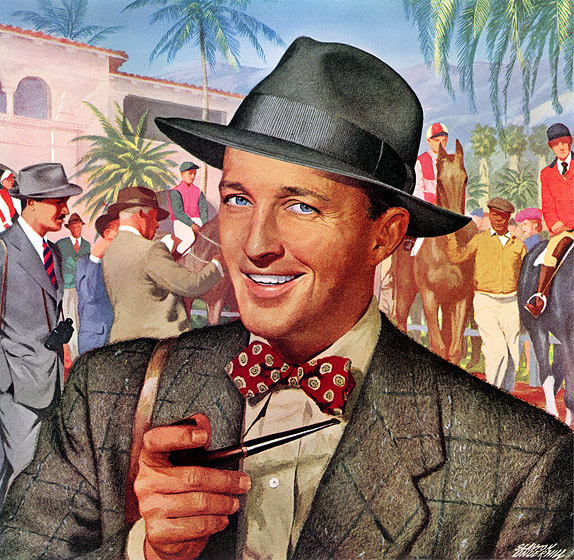 Bing Crosby Blackface Bing crosby illustration
