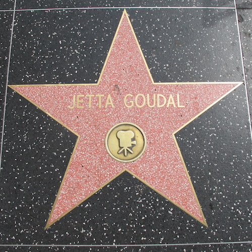 Jetta Goudal Walk of Fame