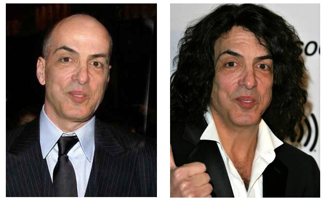 Paul Stanley bald