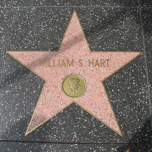 William S. Hart, Walk of Fame