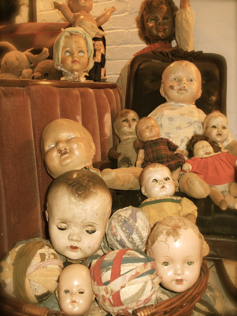 20th century doll heads