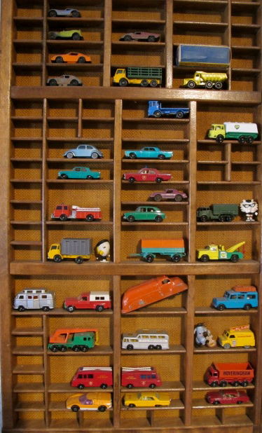 Matchbox car collection