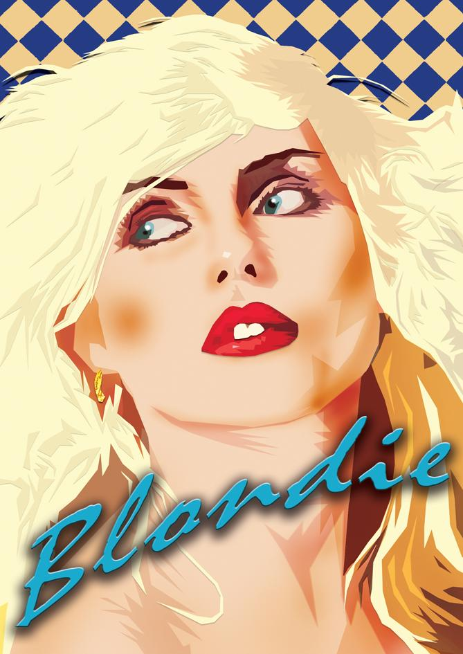 Blondie illustration