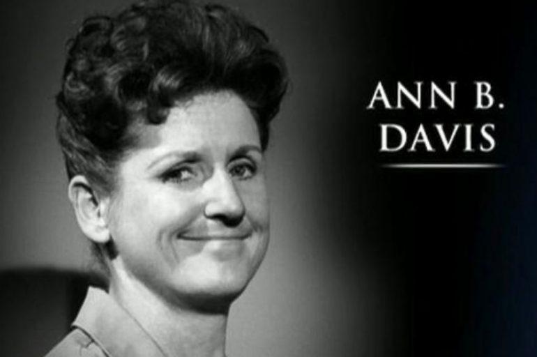 Ann B. Davis' Needlepoint: A <i>Stargayzing</i> Tribute
