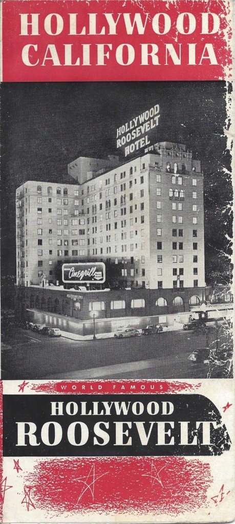 Hollywood Roosevelt Hotel 1950s