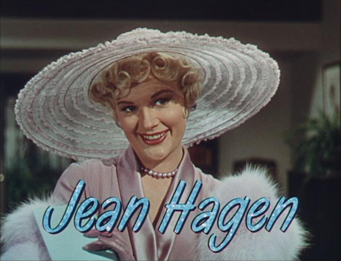 Jean Hagen title card