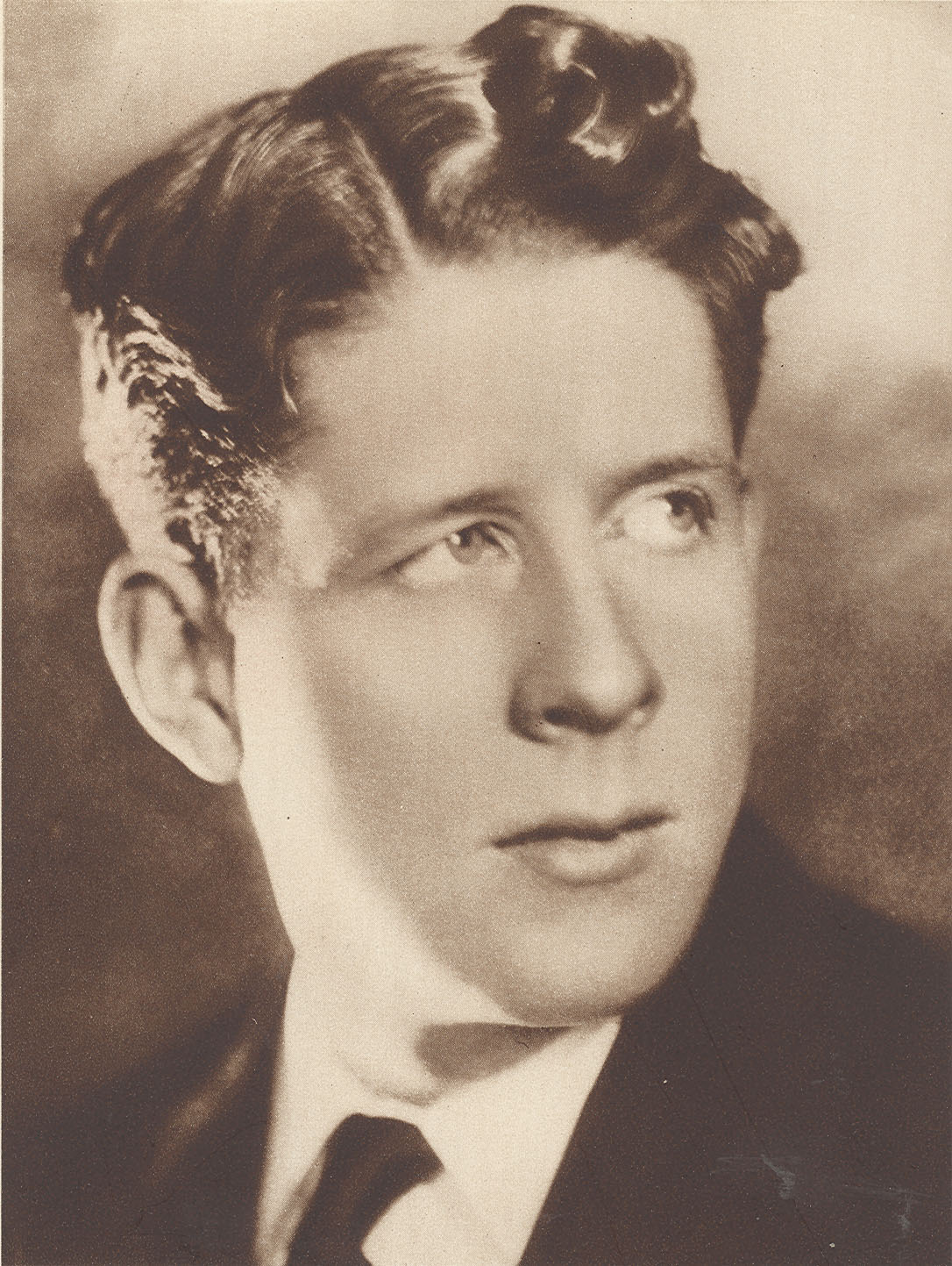 Rudy Vallee young