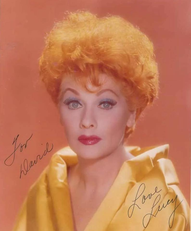 Lucille Ball handwriting