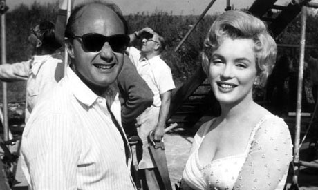Marilyn Monroe and Jack Cardiff