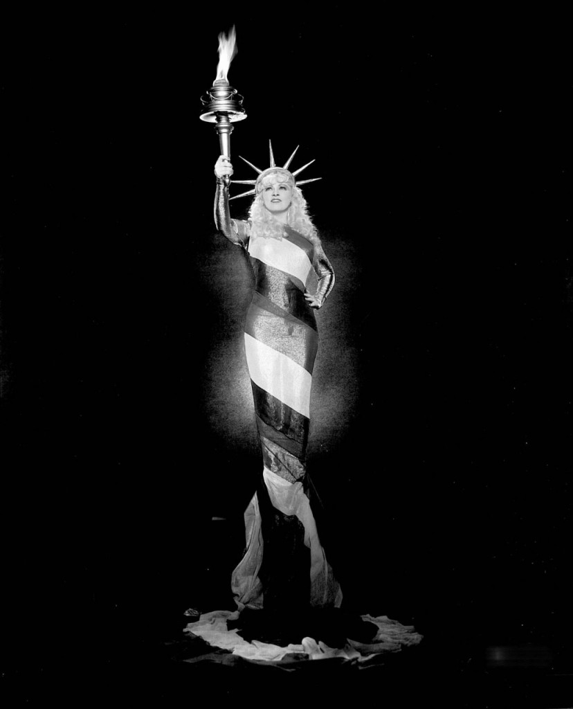 Mae West Statue of Liberty