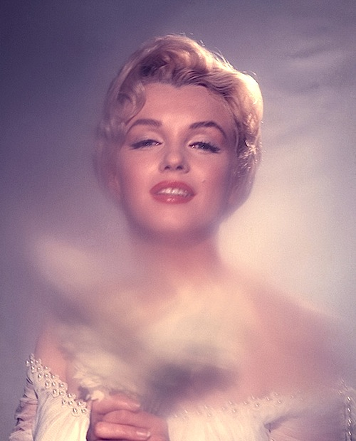 Marilyn Monroe photographed by Jack Cardiff