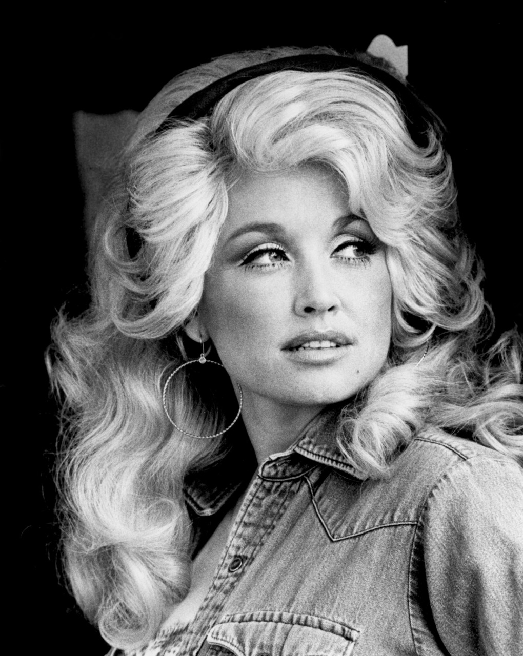 Dolly Parton denim