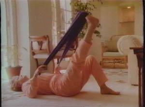 Angela Lansbury excercising