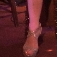 Pia Zadora's foot