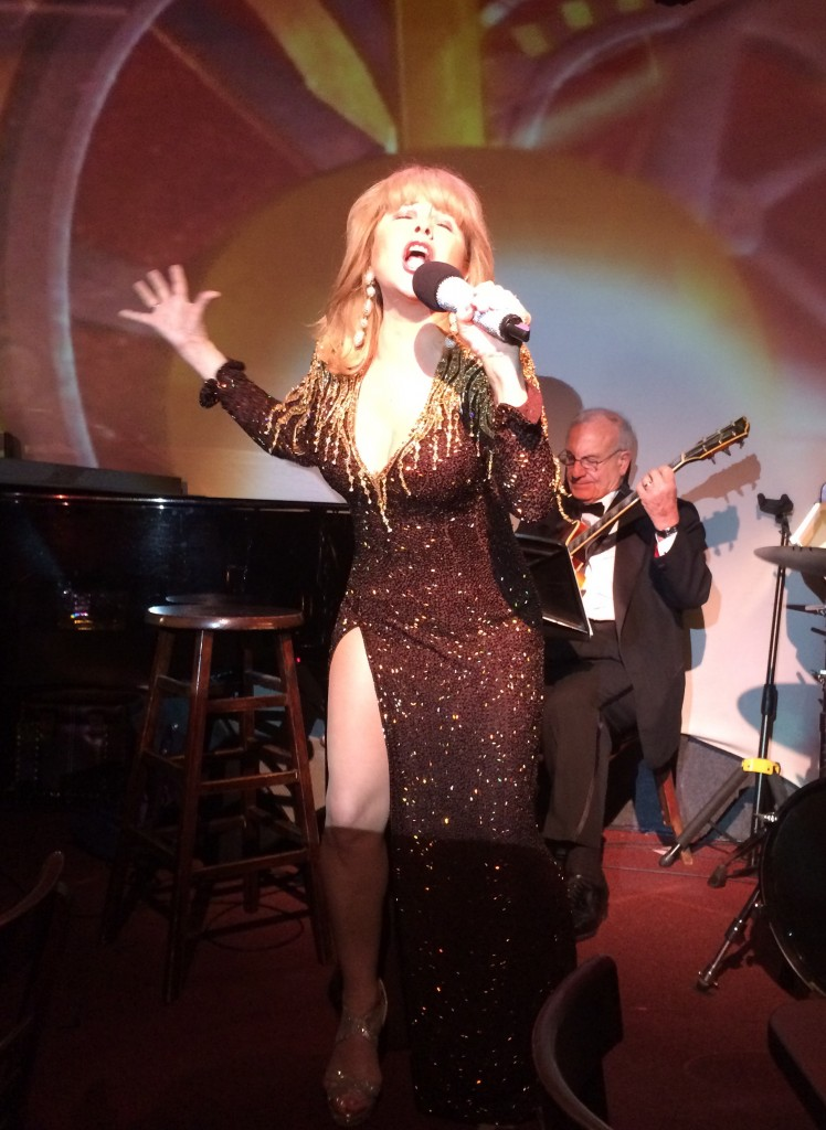 "Pia Zadora in ""Pia Reloaded"" at the Metropolitan Room, August 2014"