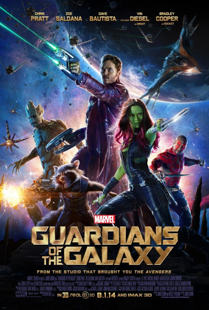 """The Guardians of the Galaxy"" poster"