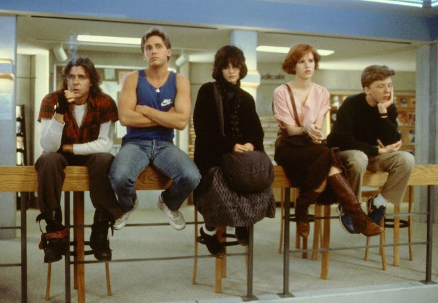 "Cast of ""The Breakfast Club"""