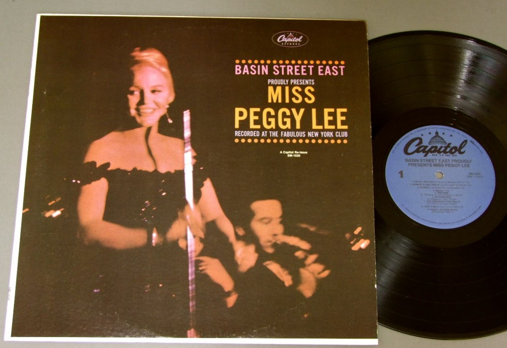 Peggy Lee Basin Street