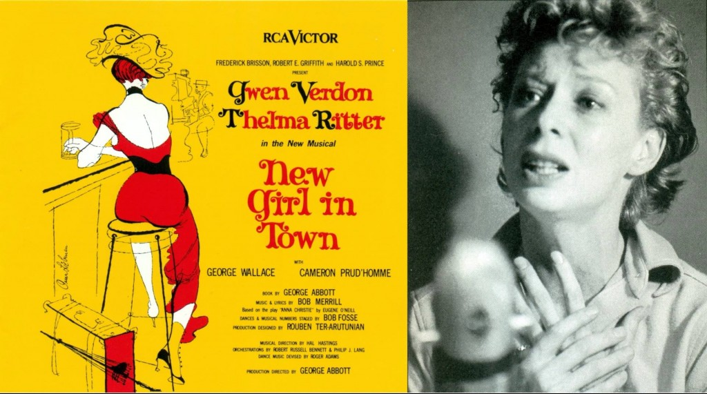 "Gwen Verdon ""New Girl in Town"""