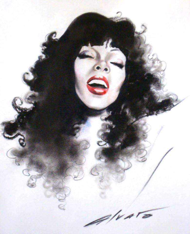 Donna Summer Illustration
